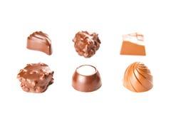 Bombon del cioccolato zuccherato Fotografie Stock