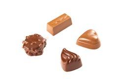 Bombon del cioccolato zuccherato Fotografia Stock Libera da Diritti