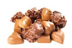 Bombon del cioccolato zuccherato Immagine Stock Libera da Diritti