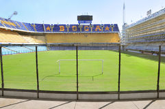 Bombonera stadium. Royalty Free Stock Image
