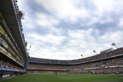 Bombonerastadion Boca River Libertadores 2018 royalty-vrije stock afbeeldingen