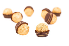 Bombons saborosos do chocolate Imagem de Stock Royalty Free