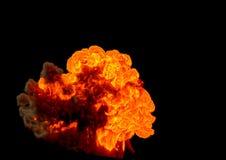 Bombowy wybuch - 3D rendering ilustracji