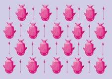 Bombowy wzór Zdjęcie Royalty Free