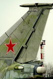 bombplan Royaltyfri Fotografi