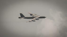 Bombplan B52 Royaltyfria Foton