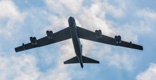 Bombplan B52 Fotografering för Bildbyråer
