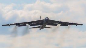 Bombplan B52 Royaltyfri Fotografi