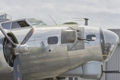Bombplan B-17 från världskrig II Arkivfoto