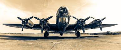 Bombplan B-17 Memphis Belle Arkivbilder