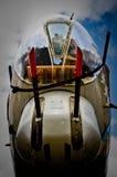 bombplan för 17 b Arkivfoto