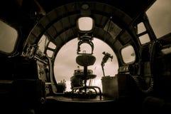 bombplan för 17 b Royaltyfri Fotografi