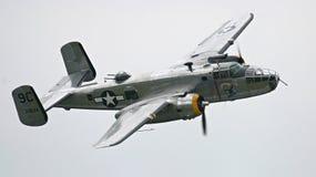bombplan för 25 b Arkivfoto