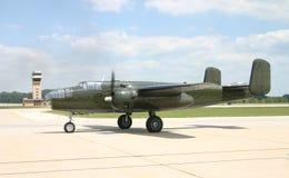 bombplan för 25 b Arkivbilder