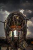 bombplan för 52 b Royaltyfria Bilder