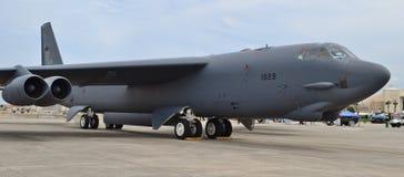 Bombplan för flygvapen B-52 Stratofortress Arkivbilder
