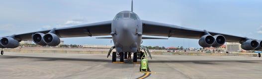 Bombplan för flygvapen B-52 Stratofortress Royaltyfria Bilder