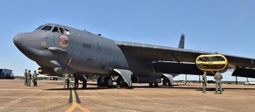 Bombplan för flygvapen B-52 Stratofortress Royaltyfri Fotografi