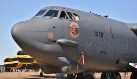Bombplan för flygvapen B-52 Stratofortress Arkivfoto
