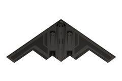 Bombplan för stealth B-2 Fotografering för Bildbyråer