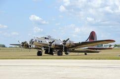 bombplan ii kriger världen Arkivbild