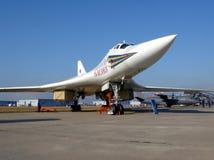 Bombplan Tu-160 Royaltyfria Bilder