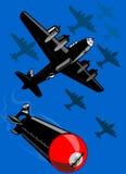 bombplaner Fotografering för Bildbyråer