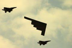 bombplanstealth Arkivbilder