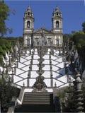 bombraga da de escadaria igreja jesus portugal Arkivbild