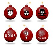 Bombs Royalty Free Stock Photo