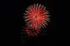 Bombs Bursting In Air Royalty Free Stock Photo