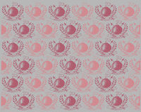 Bombs pattern Royalty Free Stock Photos