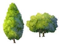 Bomen Royalty-vrije Stock Afbeeldingen