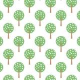 Bomenachtergrond Royalty-vrije Stock Afbeeldingen