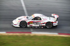 Bomex Prosche 666, SuperGT 2010 Royalty Free Stock Photo