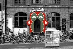 Bomma för Honolulu i Berlin arkivfoton