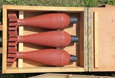 Bommen van Wereldoorlog II stock foto