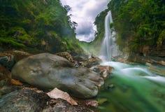 Bomod-ok Falls og Sagada Royalty Free Stock Images