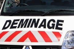 Bomploeg (Deminage) Stock Foto