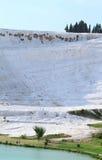Bomullsslotten parkerar arkivbild
