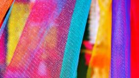 Bomullssven färger av Thailand Arkivfoton