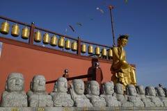 Bomunsa寺庙,济州海岛,韩国 免版税库存照片