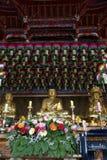 Bomunsa tempel, Jeju ö, Sydkorea Royaltyfria Bilder