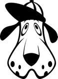 Boné de beisebol canino Imagem de Stock Royalty Free