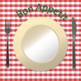 Bon Appetit Imágenes de archivo libres de regalías