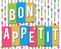 Bon Appetit Fotografía de archivo libre de regalías