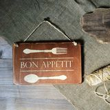 Bon Appetit Photographie stock