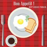 Bon Appetit Stockfoto
