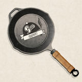 Bon Appetit! Black Frying Pan. Stock Photography