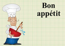 Bon appetit Stock Photography